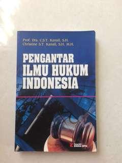 Pengantar Ilmu Hukum Indonesia