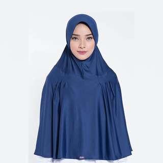 ELZATTA ORIGINAL Hijab Syari Instan Bergo Khimar Spandex E008-516