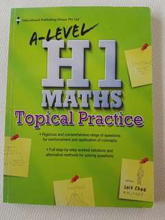 Brand New GCE A Level H1 Maths Tropical Practice