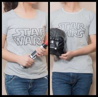 Star wars couple tshirt