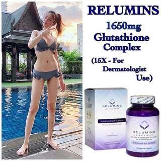 Relumins Advanced White 1650mg Glutathione Complex