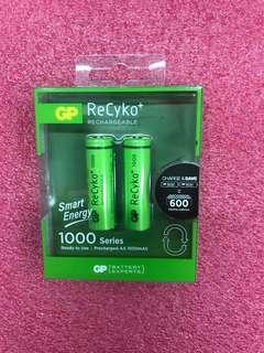 GP Recyko+ 2 AA Smart Energy 1000mah