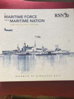 RSN 50 commemorative book: maritime force for a maritime nation)