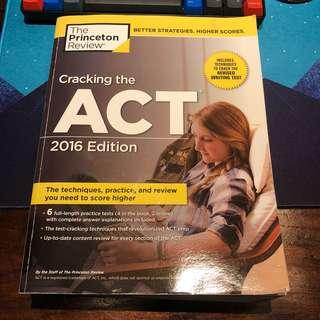 ACT SAT Prep Books