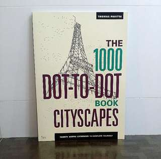 The 1000 Dot-to-Dot Book : Cityscapes