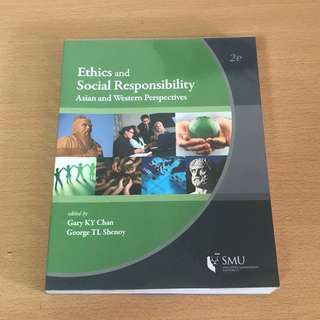 Ethics And Social Responsibility 2nd edition Textbook