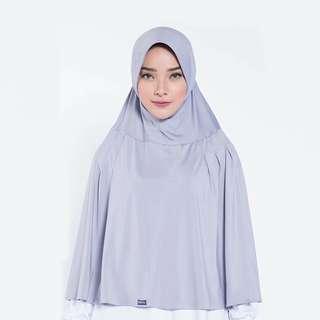ELZATTA ORIGINAL Hijab Syari Instan Bergo Khimar Spandex E008-804