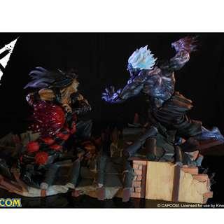 1/6 scale Evil Ryu vs Oni Akuma Gouki