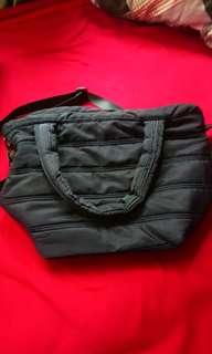 🚚 89成新鋪棉的包包 藍色