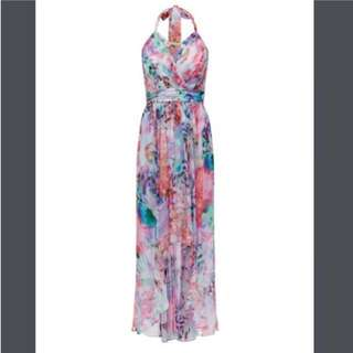 BRAND NEW WITHOUT TAGS Forever New Floral silk dress size 6