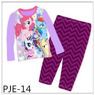 INSTOCK My Little Pony big size pjs