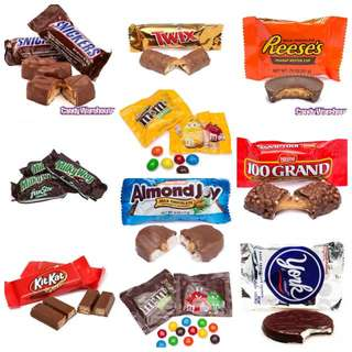 Assorted Imported Chocolates (Fun Size)