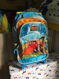 BN Bob the builder trolley bag
