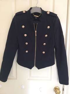 Forever New Military Jacket Sz 8