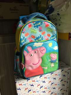 Preloved Peppa Pig - George Trolley Bag