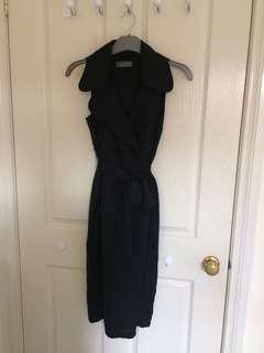 Jacque E Black Dress sz 6