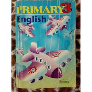 Primary 3 English Guide book