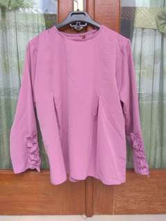 Baju ungu taro