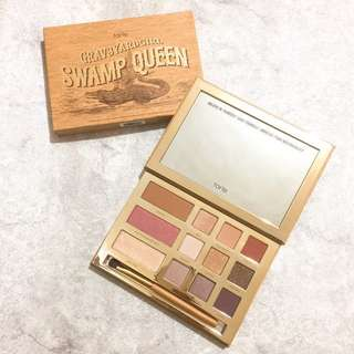 🚚 現貨🇺🇸Tarte Swamp Queen Eye & Cheek Palette 眼影腮紅盤 附刷子