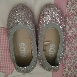 Cotton on ombre doll shoes