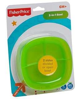 BNIB Fisher-Price 2-in-1 Bowl