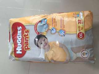 Huggies dry pants XXL - 32 pcs pack
