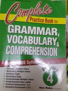 P4 Eng Gram Vocab Compre Practice
