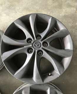 Rim Mazda 3 17 inch mazda3 civic lancer