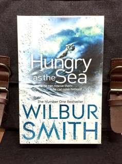 # Novel《Bran-New + Enthralling Fiction Of Revenge, Adventure And Romance》Wilbur Smith - HUNGRY AS THE SEA