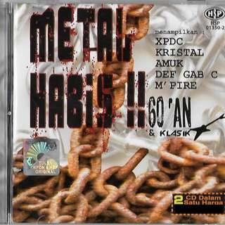 Metal Habis 60an & Klasik XPDC Kristal Amuk Def Gab C Mpire 2CD