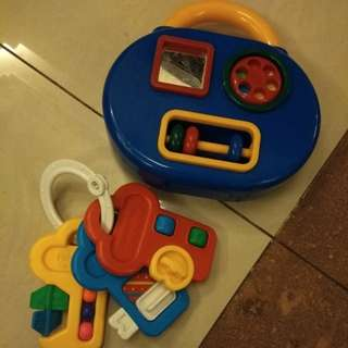 Baby toys set (fisher price n tolo)