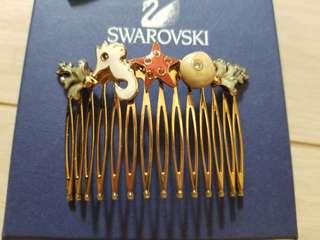 Authentic Swaroski 施華洛髮飾