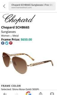 REPRICED!Chopard SCHB66S Sunglasses
