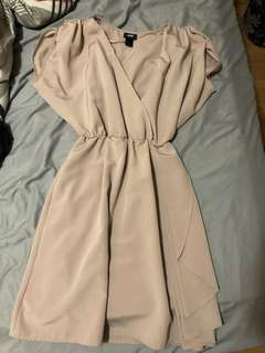 H&M light pink dress