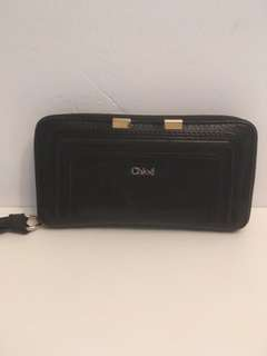 Authentic Chloe black wallet