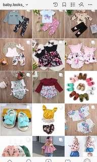 Baju baby dan anak import