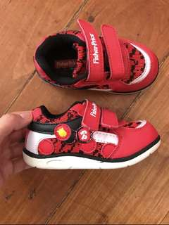 Fisher Price 12-18months Jordan Rubber Shoes in Red