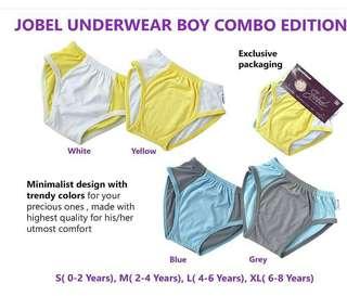 jobel underwear boy combo edition isi 4pcs