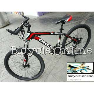 "CROLAN Mountain bikes *24"" $169 / 26"" $179 ✩ 21 Speeds, front suspension, Disc brakes ✩ Brand New MTB, Bicycles"