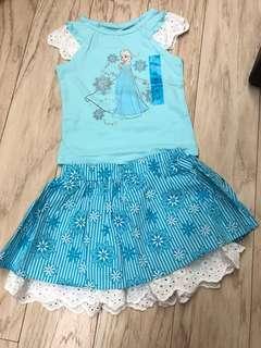 Elsa 冰雪奇緣 公主套裙褲