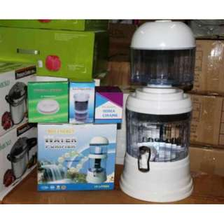 Jual Bio Energy Mineral Water Pot Purifier 15L (15 Liter) Filter Air Minum