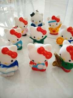 Hello Kitty Figurines