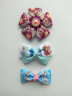 Frozen Hairclip Set 1