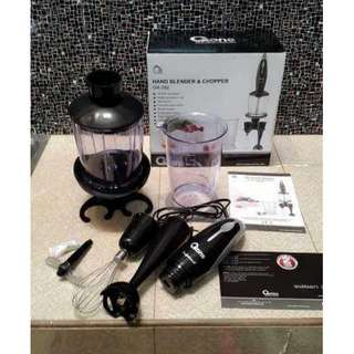 Hot Promo Ramadan OX-292 Hand Blender & Chopper Oxone 180W