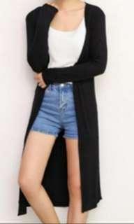 Black long Cardigan Jacket