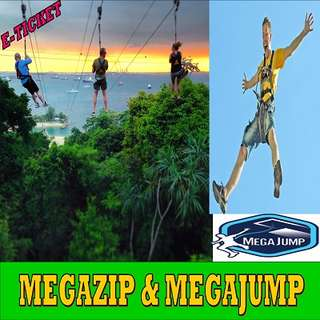 MegaZip + MegaJump (Thrill Seeker)