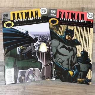 DC Comics BATMAN GOTHAM KNIGHTS 蝙蝠俠 葛咸城 美國漫畫 兩本