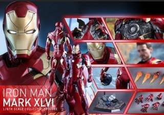 Hot Toys Iron Man Mark 46 avengers Mk 46
