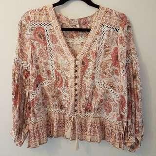 Spell blouse in blush