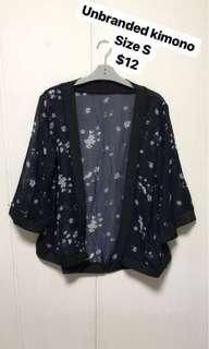Unbranded kimono